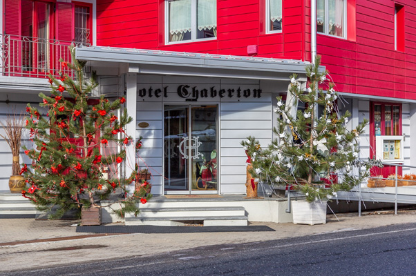 Hotel Chaberton on this guided ski trip